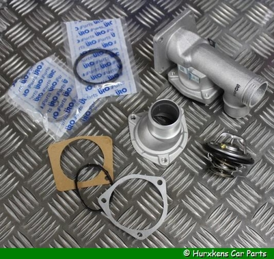ALUMINIUM THERMOSTAATHUIS KIT V8 MET THERMOSTAAT PER SET