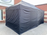 LR2 HEAVY DUTY TENT MET STALEN FRAME 39 MM - AFMETING: 6 X 3 PER SET