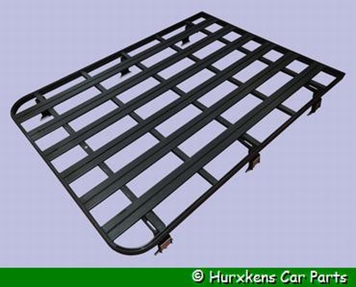 DEFENDER ROOF-RACK MET 6 VOETEN  PER SET
