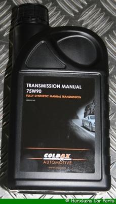 COLDAX TRANSMISSIE OLIE 75W-90 1L  PER STUK