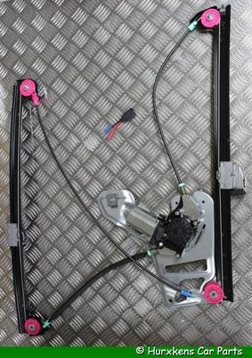 RAAMMECHANISME MET MOTOR LINKS VOORZIJDE  PER STUK