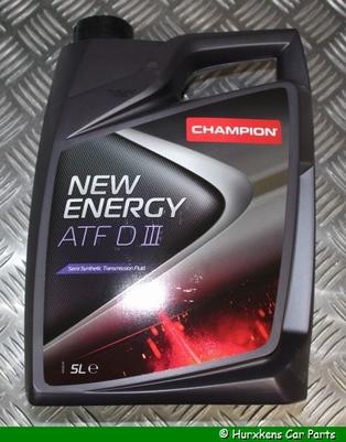 CHAMPION NEW ENERGY ATF DIII (D3) - 5 LITER