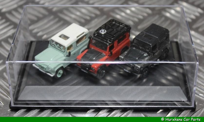 LAND ROVER DEFENDER HERITAGE SET 1:76