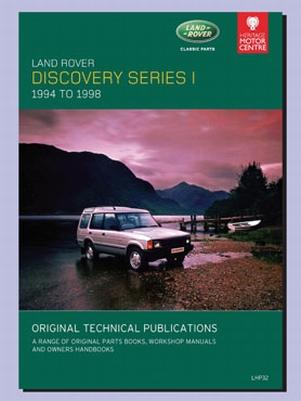 CD ORIGINELE TECHNISCHE PUBLICATIES DISCOVERY