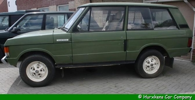 Range Rover Classic 3.5 V8 carburateur