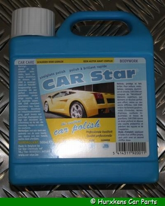 CAR STAR - CAR POLISH PER STUK