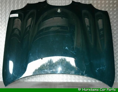 MOTORKAP BLAUW METALLIC  INCL. 3.0 V6 BADGE - GEBRUIKT PER STUK