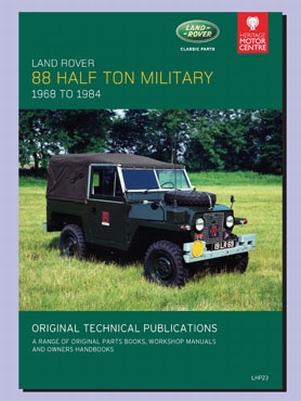 CD ORIGINELE TECHNISCHE PUBLICATIES 88 HALF TON MILITAIR