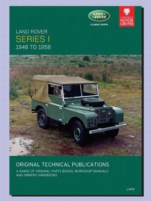 CD ORIGINELE TECHNISCHE PUBLICATIES SERIES 1