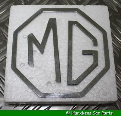 MG EMBLEEM SET - 3 DELIG