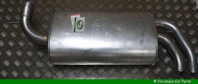 ACHTERSTE DEMPER MET EINDPIJP - 2.5 V6 PER STUK