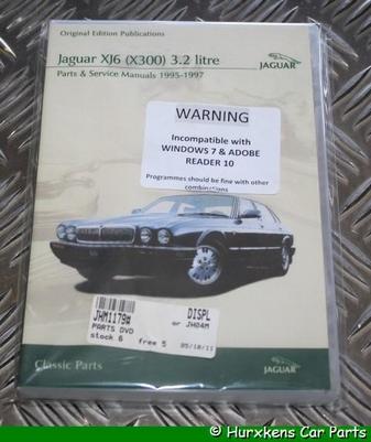 CD ORIGINELE TECHNISCHE PUBLICATIES X300 3.2 PER STUK