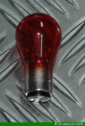 LAMP P21/5W 12V ROOD PER STUK