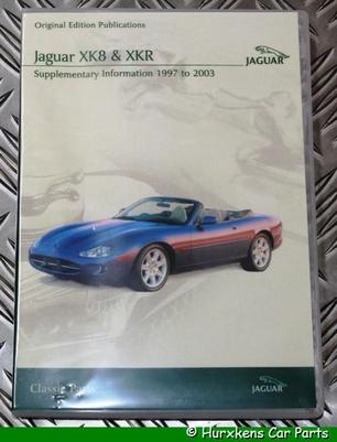 CD ORIGINELE TECHNISCHE PUBLICATIES XK8- XKR 1997 - 2003 PER STUK