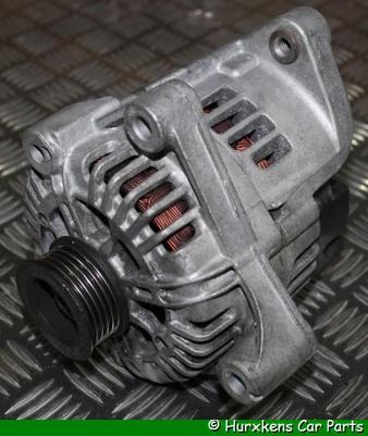WISSELSTROOMDYNAMO 150 AMP. - GEREVISEERD