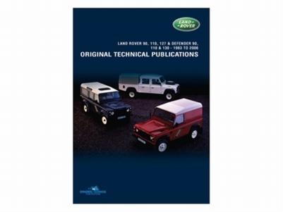 CD ORIGINELE TECHNISCHE PUBLICATIES DEFENDER 90, 110, 127 PER STUK