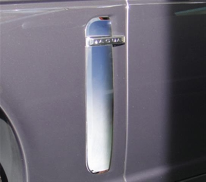 CHROME SIDE VENT SET R-LOOK PER SET