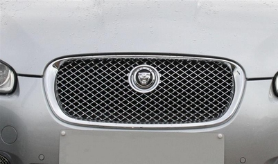 CHROME RVS HONINGGRAAD GRILLE MET CHROME OMLIJSTING PER STUK