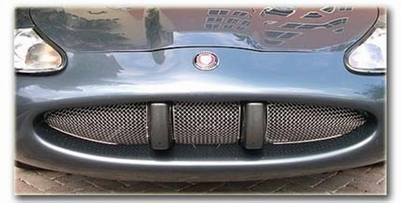 3 DELIGE CHROME RVS HONINGGRAAD GRILLE