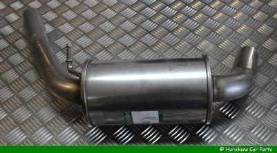 GELUID/EINDDEMPER & UITLAATPIJP 4.4L V8 - ACHTER LINKS
