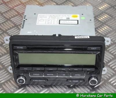 RADIO- CD SPELER PER STUK