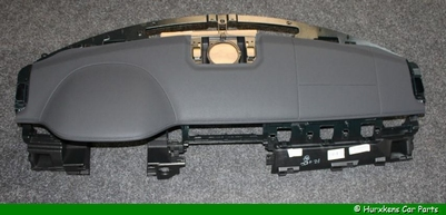 DASHBOARD LHD EBONY BLACK INCL. PVC