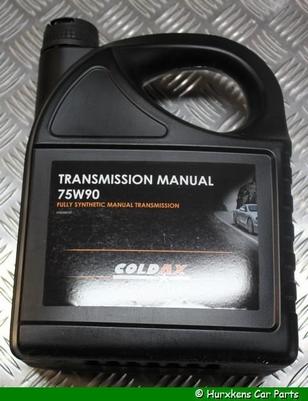 COLDAX TRANSMISSIE OLIE 75W-90 5L PER STUK