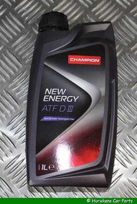 CHAMPION NEW ENERGY ATF DIII (D3 - 1 LITER PER STUK