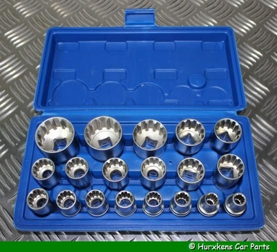 MULTI-LOCK SOCKET SET 19-DELIG